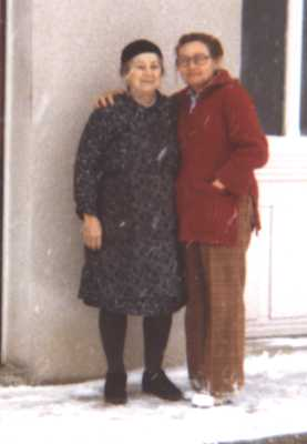 Catherine Berthin Lequien and Paulette Lequien Burns