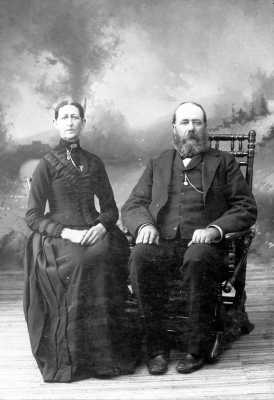 Picture of Caroline Maria Sexton and Albert C. Bennett