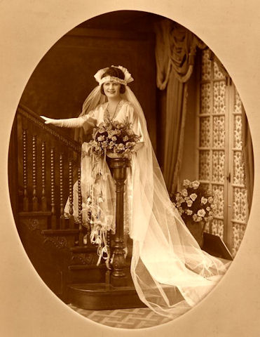 Eva Gross Johnson Wedding Dress