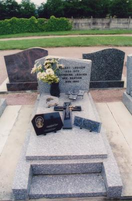 Grave of Catherine Berthin Lequien and Robert Lequien