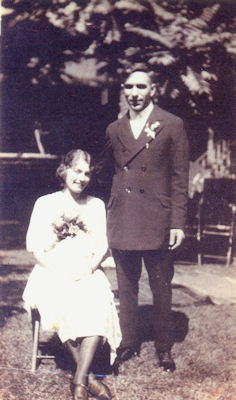 Helen Mary Gross and Joseph John Friedel Wedding Day
