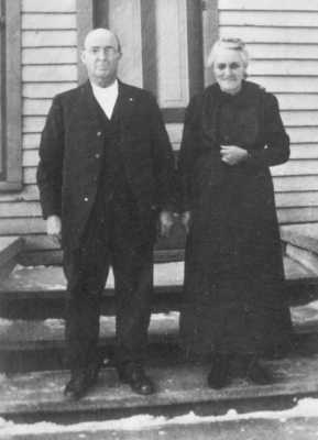 James Ira Copenhaver and Myra Luella Tillotson