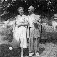 Theresa Wessendorf and Joseph Francis Gross