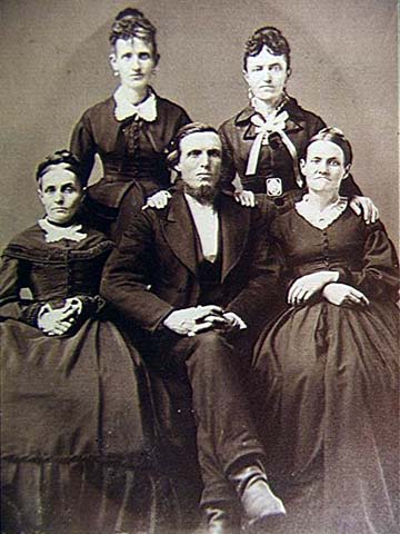 Children of Leonard and Mary Tillotson