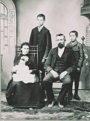 Family of George and Alice Sexton Meacher