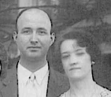 paul Rector conley and ruth marie tillotson in 1933