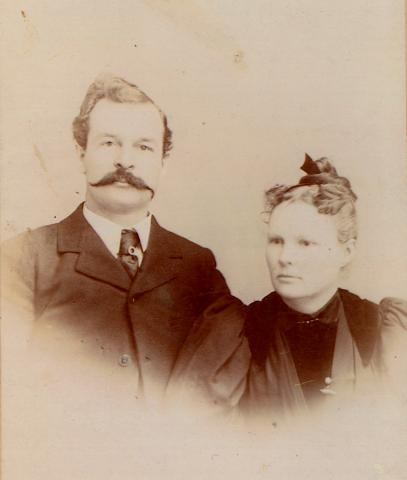William Thaddeus Hopkins and Sarah Orillia Tillotson