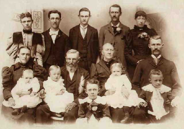 William Thomas Tillotson and Family