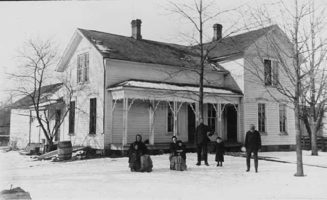 William and Betsy Tillotson's home near Elsie, Michigan