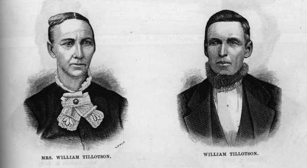Mary Elizabeth Wooll and William Thomas Tillotson